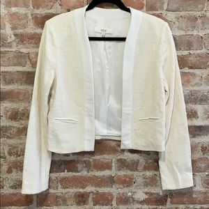 Athe Made in Poland Cropped White Creme Jacket